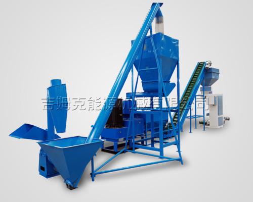时产1吨饲料颗粒机生产线